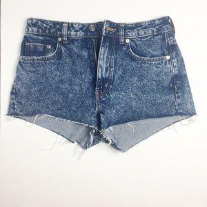 NWOT DIVIDED Denim shorts